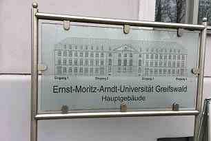 Besuch der Ernst-Moritz-Arndt Universität Greifswald