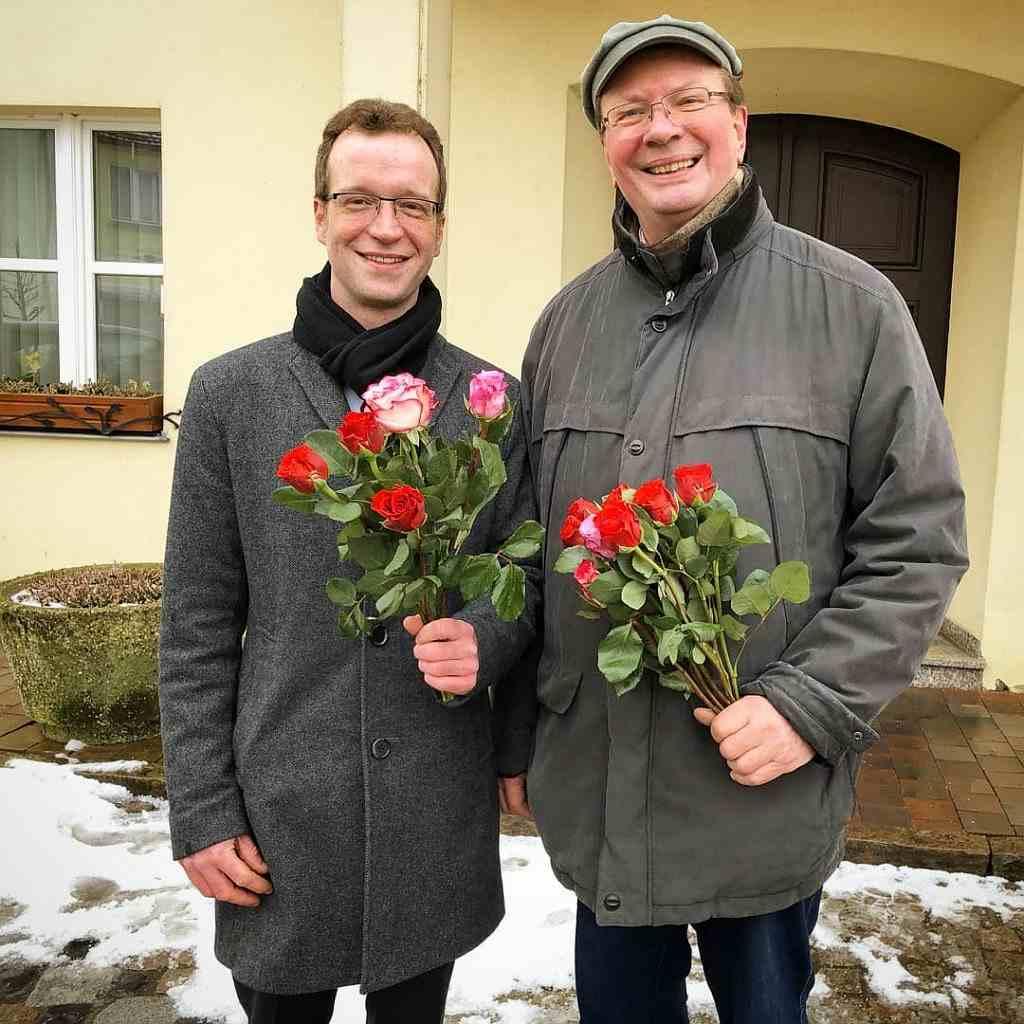 Frauentag 2018 - Rosen verteilen in Tessin