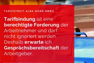 Schnelle Konfliktlösung im Tarifstreit der Alba Nord GmbH