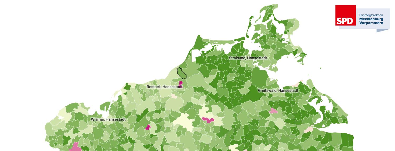 Kommunaler Finanzausgleich 2020 in Mecklenburg-Vorpommern