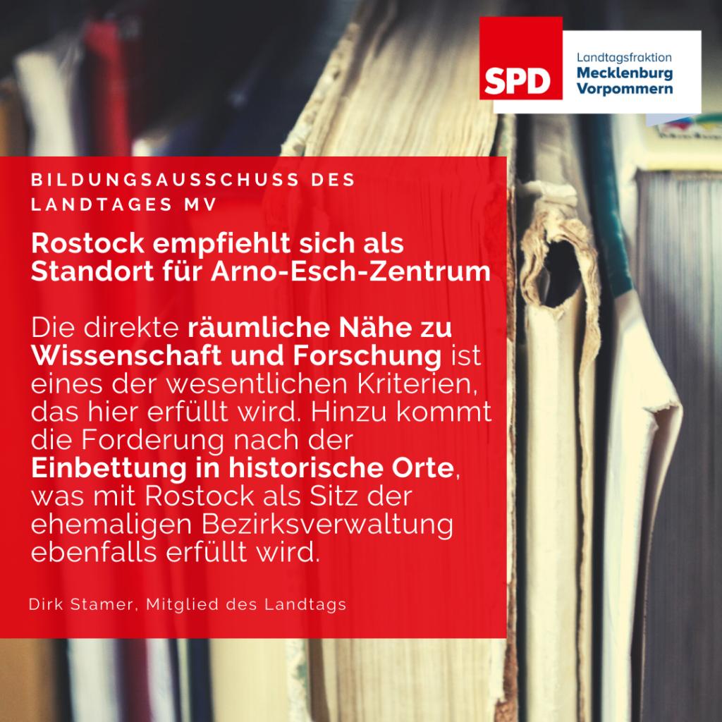 Arno-Esch-Zentrum Standort Rostock
