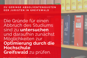 """Rede zum Thema """"Juristennachwuchs in MV"""""""