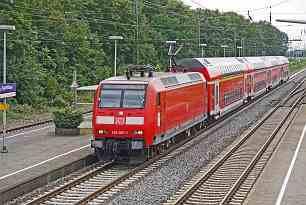 Neue Bahnstation in Rövershagen