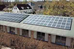 Lichtenhäger Pfarrscheune erhält Zuschuss für eine Photovoltaikanlage