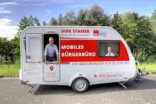 Premiere in MV: Erstes mobiles Bürgerbüro eines Landtagsabgeordneten