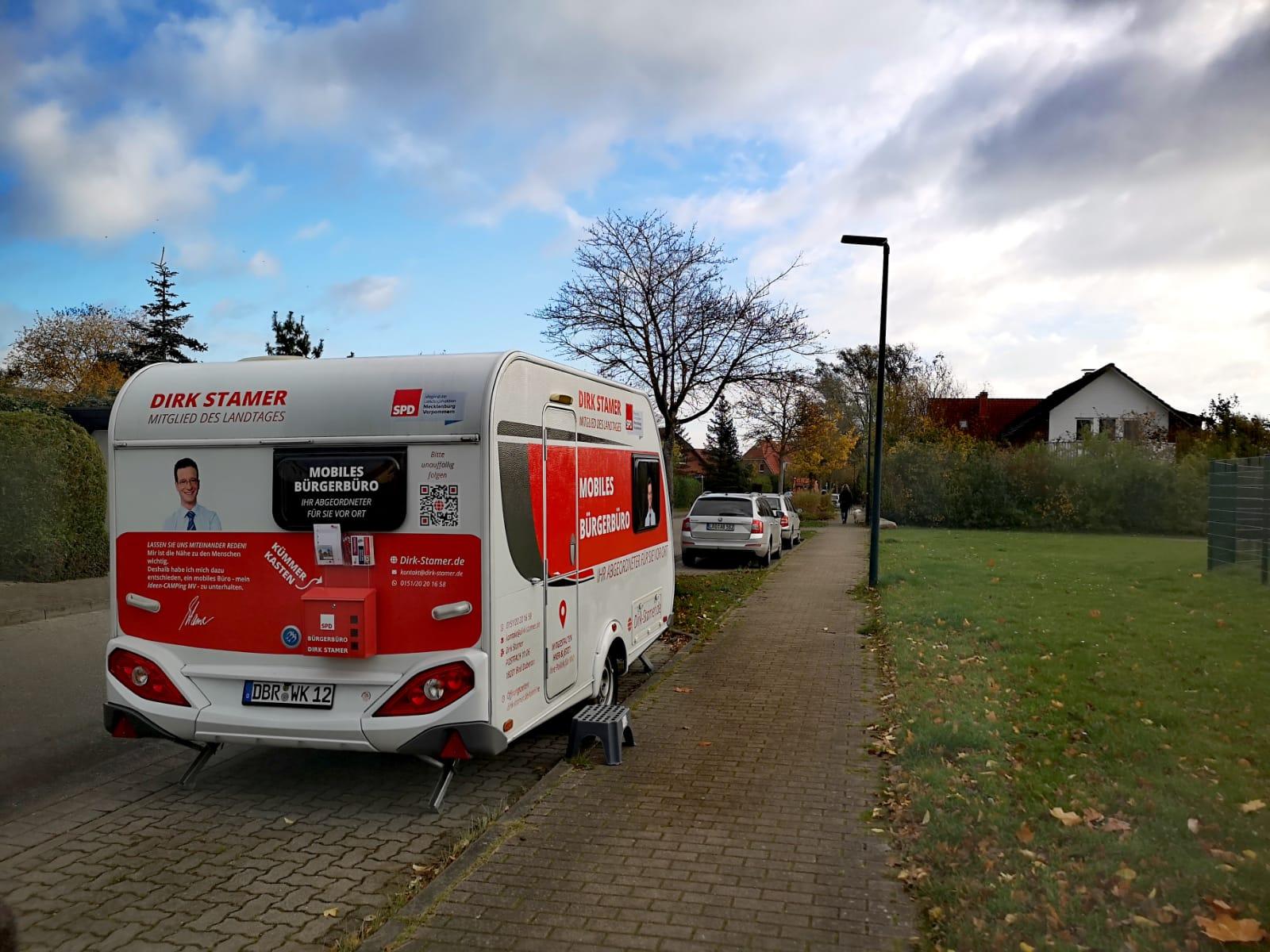 Bürgerbüro vor Ort in Elmenhorst