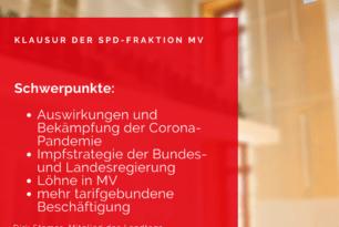 SPD-Fraktionsklausur zu Corona und Tarifpolitik
