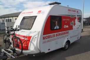 Frühjahrsputz beendet Winterschlaf des mobilen Bürgerbüros