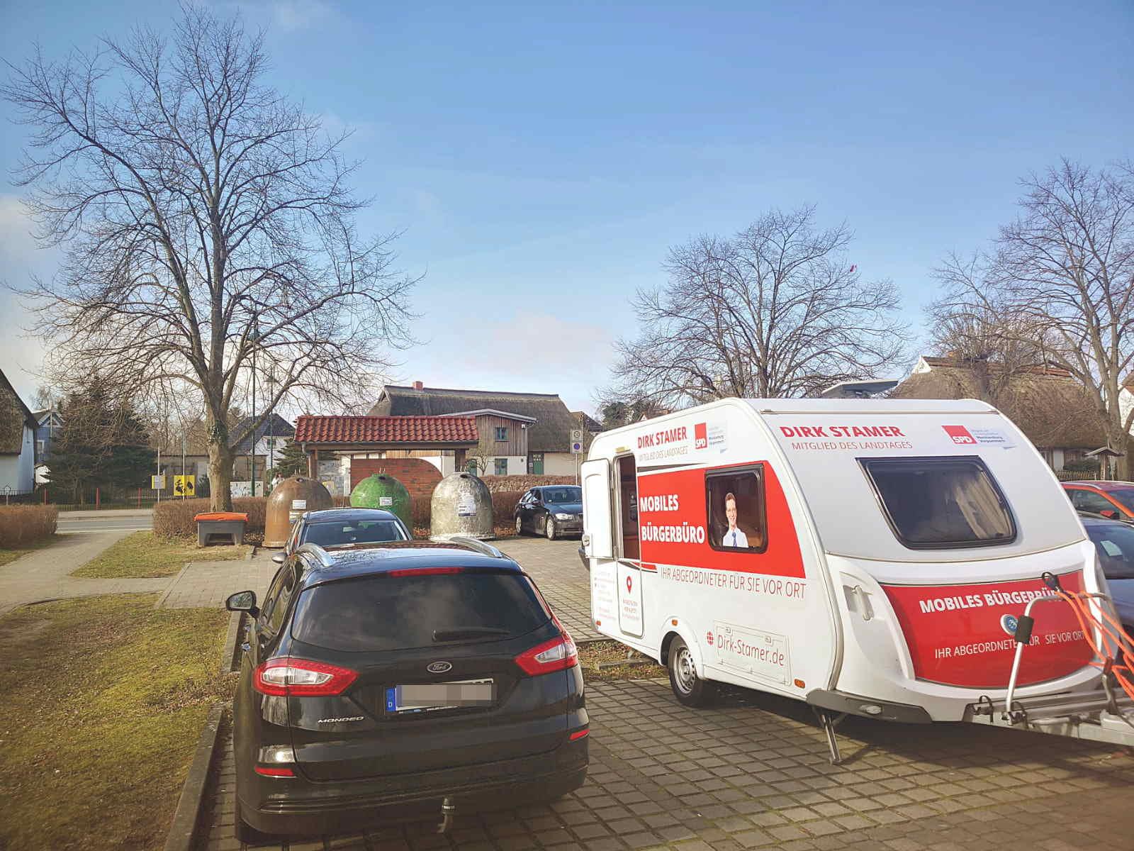 Bürgerbüro vor Ort in Lichtenhagen Dorf