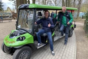 Zoo-Express ermöglicht jetzt barrierefreies Zoo-Erlebnis