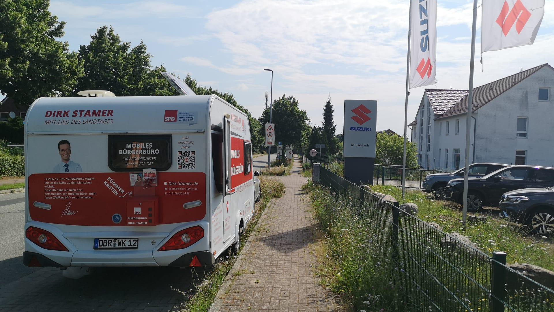 Bürgerbüro vor Ort in Elemenhorst