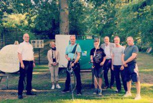 Landtagspräsidentin besucht Sportschützen in Kritzmow